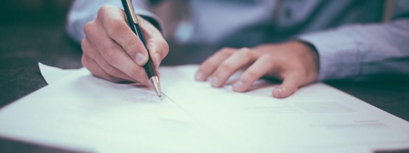 Foto 103  Tekenen Contract